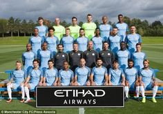Man City release Team photograph, Yaya Toure not included, Kelechi Iheanacho included (photo) - http://www.thelivefeeds.com/man-city-release-team-photograph-yaya-toure-not-included-kelechi-iheanacho-included-photo/