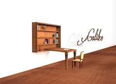 Formabilio - Galileo libreria / scrivania. Progetto inviato da Antonio Torretti. Ti piace? VOTA L'IDEA QUI https://it.formabilio.com/progetto-concorso/galileo-13847