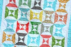 FREE pattern: Double Hourglass Blocks (from Cluck Cluck Sew)