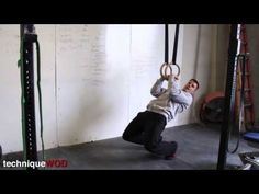 Muscle Up progressions. How To Do Muscle Ups For CrossFit Athletes - Part 1 - TechniqueWOD 86