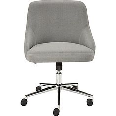 Room Essentials Office Chair Upholstered Grey Linen Home Decor Styling Inspiration Pinterest Linens And Gray