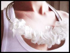 Necklace made from PET bottles - Madreperola