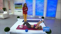 Claudia Molina mostró ejercicios para el pecho y el busto. Ejercicios para levantar los senos http://entretenimiento.univision.com/despierta-america http://e...