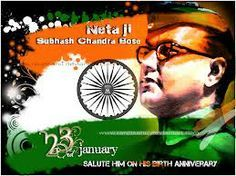 Tribute to founder of National Indian Army Netaji on his birthday as the national freedom fighter of India. He was born to a Bengal family in Cuttack, Odisha.