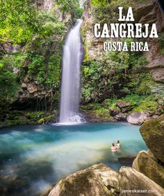 Discover the most beautiful waterfalls in Costa Rica!