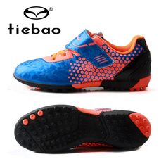 78a96db42af7 TIEBAO Kids Football Boots TF Turf Soles Durable Boys Girls Training Soccer  Shoes Outdoor Sports Shoes