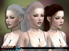 The Sims 4 najlepsze mody do gry: LeahLillith Everlast fryzura The Sims 4 Pc, My Sims, Sims Mods, Sims 4 Tsr, Teen Hairstyles, Female Hairstyles, Woman Hairstyles, Pelo Sims, The Sims 4 Cabelos