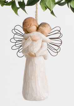 Check out the deal on Willow Tree®  Angel Embrace Ornament at ChristmasOrnamentStore.com