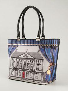 Love Moschino Illustrative Print Tote - Etre - Vestire - Farfetch.com