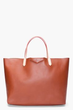 Givenchy Camel Shopper Tote