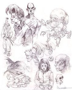 sketch by ~FLOWERZZXU on deviantART