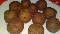 Falafel z fazule (fotorecept) Falafel, Tahini, Ale, Ethnic Recipes, Food, Diet, Lebanon, Cilantro, Falafels