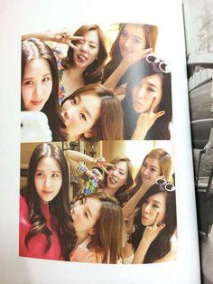 Girls Generation seohyun Taeyeon sunny Tiffany Jessica Selfie