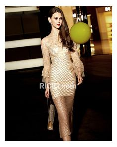 27aab583097bee Lace Glitter Gold Sheath Hollow Out Evening Christmas Special Occasion Gown