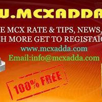 Call @ 8960647957 to know about live market rate & price of Commodity, Mcx live market watch, live mcx international rates, Mcx free tips today, Mcx commodity market tips & free commodity tips. http://www.mcxadda.com/free-live-mcx-rate.aspx