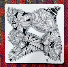 XIRCUS as a monotangle - by Marie Tvrdikova, CZT