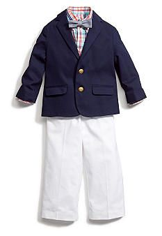 Izod 4-Piece Suit Set Toddler Boys