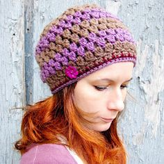 Keep going for slouchy hat. Instructions for dreads included also.
