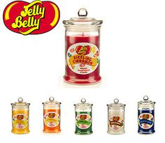 Jelly Belly Candle Jars Various Scents Wax Lyrical Brand New |