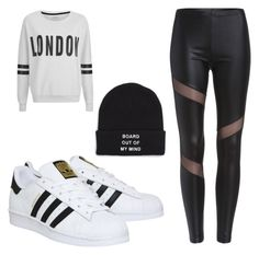 A fashion look from December 2015 featuring cream long sleeve top, sheer mesh leggings and adidas. Browse and shop related looks. Cream Long Sleeve Tops, Out Of My Mind, Mesh Leggings, Girly Things, Adidas Sneakers, Fashion Looks, Cute Outfits, Vans, Fashion Outfits
