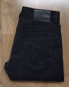 f2664317 Men's HUGO BOSS Black Label Maine STRETCH Black Jeans Waist 34 Leg 32 RRP  £129