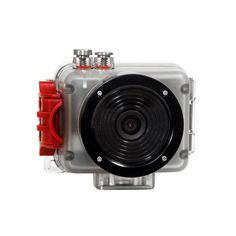 Capture every moment in an outdoor adventure with this small and compact HD video camera. It's not just waterproof. It also offers full 1080p high definition video with a 140-degree wide angle lens. Gifts For Campers, Sports Camera, Wide Angle Lens, Practical Gifts, Video Camera, Gopro, Compact, 5 Hours, Hd Video