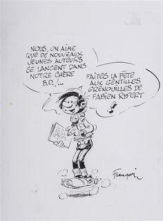 André Franquin (1924-1997) Gaston Lagaffe, 1995