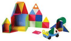 Amazon.com: Magna-Tiles 02148 Solid Colors 48 pc DX set Toy: Toys & Games