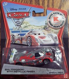 Disney / Pixar CARS 2 Movie Exclusive 155 Die Cast Car SILVER RACER Shu Todoroki Mattel,http://www.amazon.com/dp/B008C564PK/ref=cm_sw_r_pi_dp_plKIsb179J4YCN8V