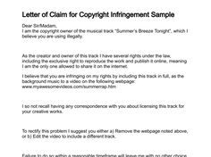 Letter of intent template to purchase goods formal letter of intent letter claim for copyright infringement sample salaried list documents application form completed with altavistaventures Images