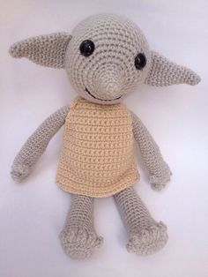 Handmade Dobby the House Elf doll  by SunnyStitchBoutique on Etsy, $34.50