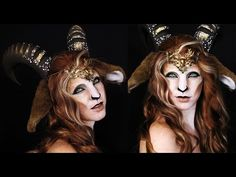 Faun Makeup Tutorial | Mythological Creatures Collaboration - YouTube