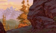 Background from Brother Bear