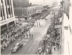 When Downtown Hammond, Was A Real Downtown. Hammond use to have the Best Parades. Hammond Indiana, Northern Exposure, Ol Days, Local History, Old City, Back In The Day, Places To Go, Nostalgia, Chicago