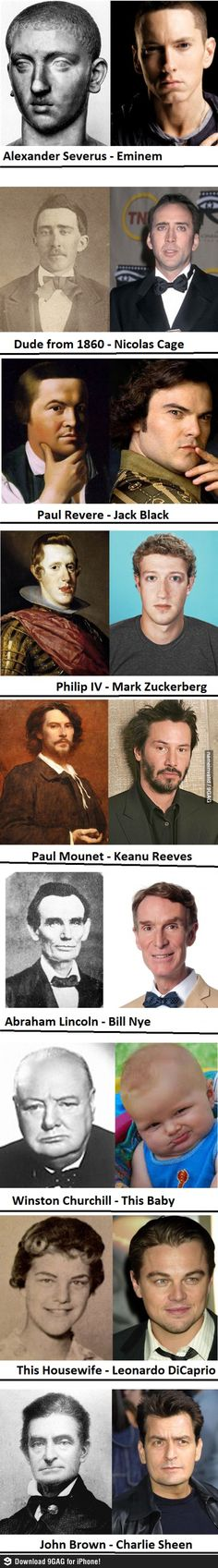 Wow... parecidos razonables