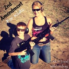 2nd Amendment, Child Safety, Firearms, Sons, Handle, Teaching, Facebook, Children, Girls