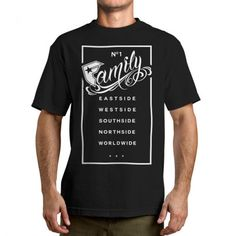 Famous Stars and Straps Family Rectangle Men's Tee