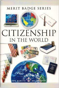 Citizenship in the World (Merit Badge Series) BSA Boy Scouts of America Eagle Required