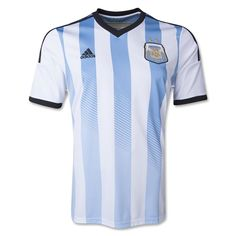 Official Argentina Home Jersey 2014 Official Adidas Argentina Adizero  Apparel Free Fedex Shipping 90 Day Return Policy Adidas Sizing Height Waist  Chest XS ... 9bd247f81465d