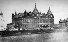 Самара.        Городской        театр        [Драматический        театр].        Фотография.        ~1905 год.