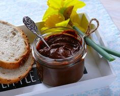 Domowa fit nutella - Opycha.pl Nutella, Chocolate Fondue, Fit, Shape