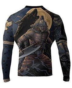 Raven Fightwear Men's Ulfhedinn MMA BJJ Rash Guard Black ... https://www.amazon.com/dp/B01I3X7V2U/ref=cm_sw_r_pi_dp_x_5RnhybFSKK85T