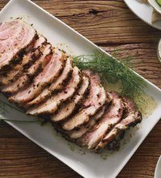 Braised Pork Shoulder with Potato-Fennel Puree.