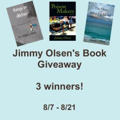 Jimmy Olsen's Book Giveaway!