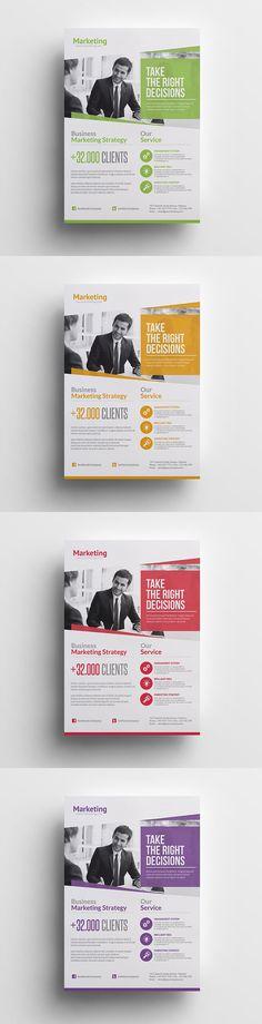 Marketing Business Flyer Template PSD