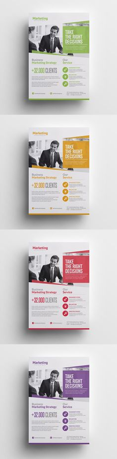Marketing Business Flyer Template PSD