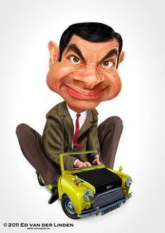 "Rowan Atkinson ""Mr. Bean"""