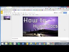 This video describes what a HyperDoc is and what you can use it for. Find out how to create, share, and access your HyperDoc.