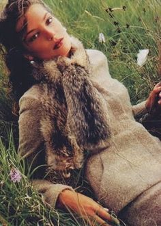 "Fashion ""Proper English"": Daria Werbowy by Mario Testino for US Vogue"