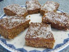 Chocolate Coconut Slice recipe